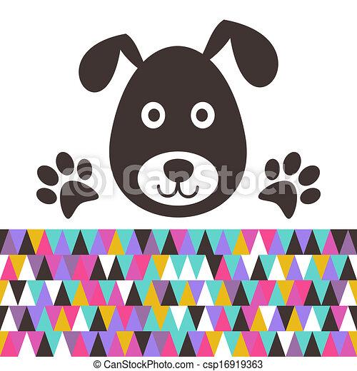 Cartoon dog - csp16919363