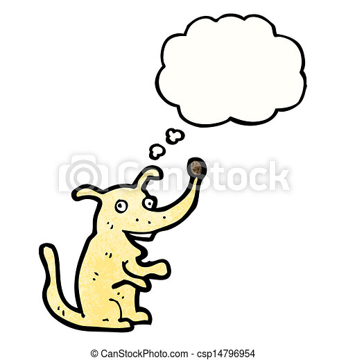 cartoon dog - csp14796954