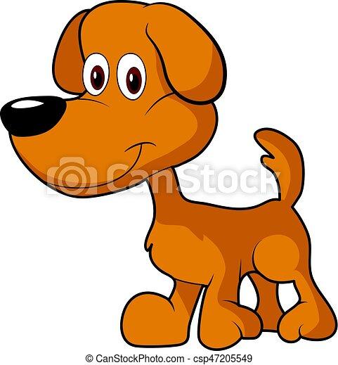 little cute brown cartoon dog clipart eps vector search clip art rh canstockphoto co uk cute dog clip art free dogs cute dog clip art free dogs
