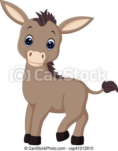 cartoon donkey - csp41012810