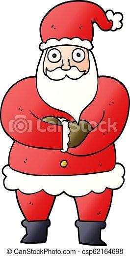 Father Christmas Cartoon Images.Cartoon Doodle Father Christmas