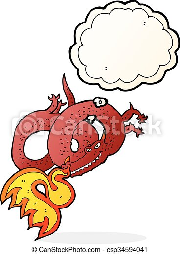 cartoon dragon breathing fire with thought bubble eps vector rh canstockphoto com deep breathing clipart person breathing clipart