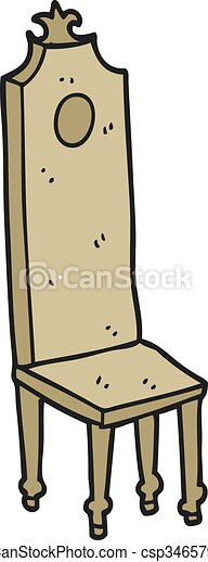 Cartoon Fancy Chair  sc 1 st  Can Stock Photo & Freehand drawn cartoon fancy chair.