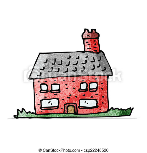 cartoon farmhouse - csp22248520