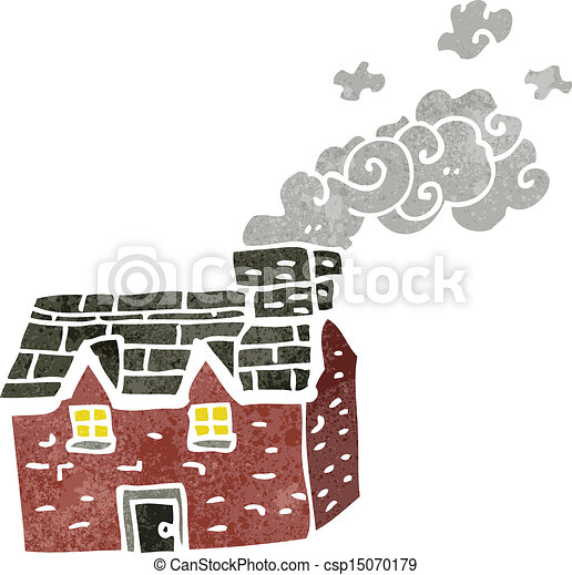 cartoon farmhouse - csp15070179