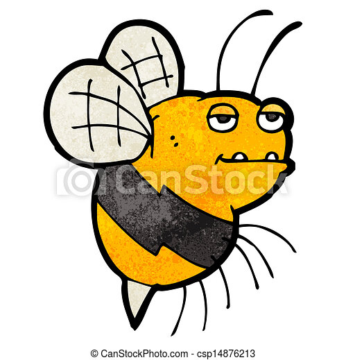cartoon fat bumble bee rh canstockphoto com Bumble Bee Drawing bumble bee cartoon image