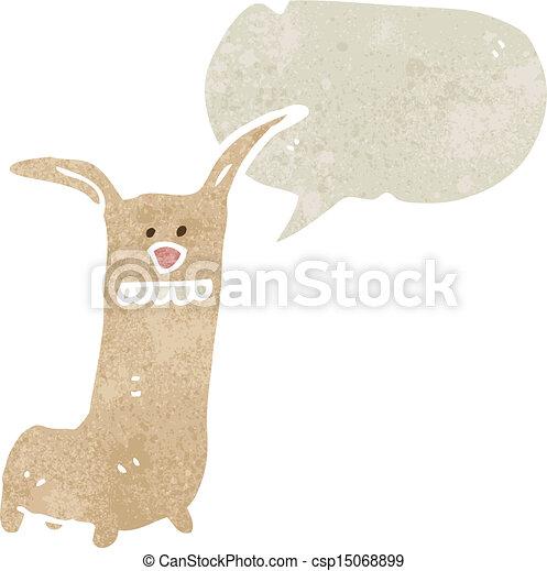 cartoon funny animals with speech bubble