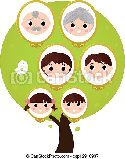 Generation Vector Clipart Illustrations  Generation Clip Art
