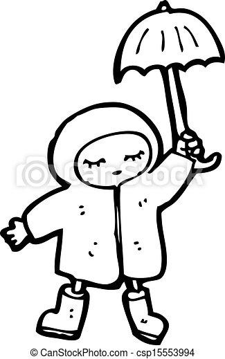 Rain Coats Clip Art Vector And Illustration 894 Rain Coats Clipart