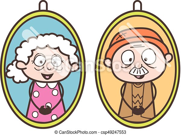 cartoon grandpa and grandma pictures vector illustration happy dog clipart black and white happy hot dog clipart