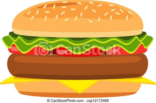 cartoon hamburger rh canstockphoto com cartoon hamburger show cartoon hamburger images