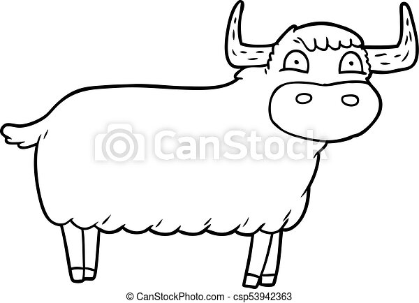 Highland Cattle Dairy Cattle Livestock - Highland Cow Emoji , Free Transparent  Clipart - ClipartKey