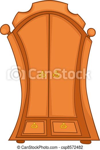 Cartoon Home Furniture Wardrobe - csp8572482