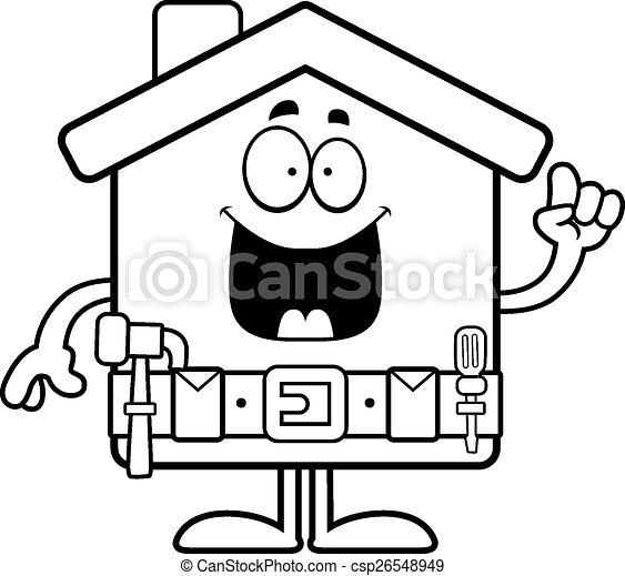 cartoon home improvement idea a cartoon illustration of a eps rh canstockphoto com home improvement clip art free