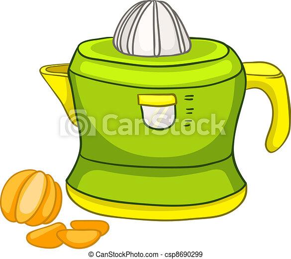 Cartoon Home Kitchen Juicer - csp8690299