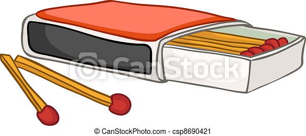 Cartoon Home Kitchen Matches - csp8690421