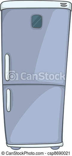 Cartoon Home Kitchen Refrigerator - csp8690021