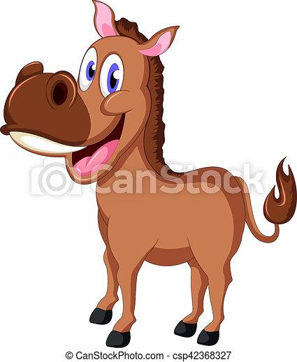 Vector ilustration of cartoon horse cartoon horse csp42368327 publicscrutiny Choice Image