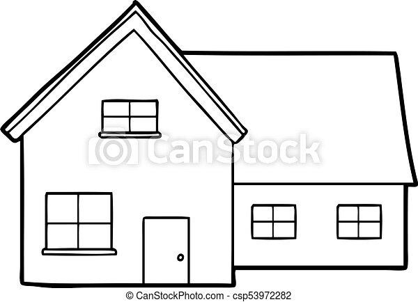 cartoon house rh canstockphoto com housekeeping cartoon images house cartoon image