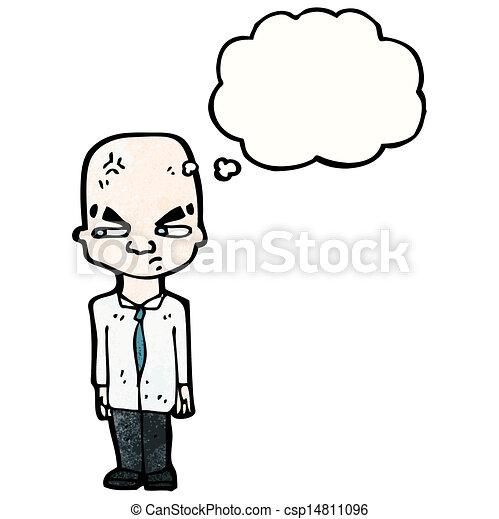 Cartoon huge brain man eps vectors search clip art illustration cartoon huge brain man csp14811096 thecheapjerseys Gallery