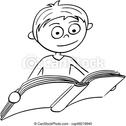 Boy Cartoon Drawing Book