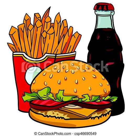Junk Food Clipart Free