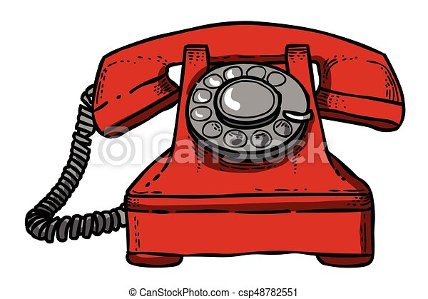 cartoon image of phone icon telephone symbol an artistic freehand