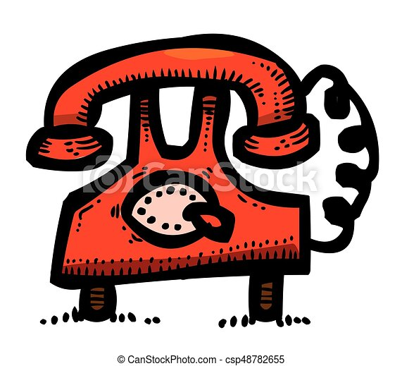 Cartoon Image Of Phone Icons Set Telephone Symbols An Artistic