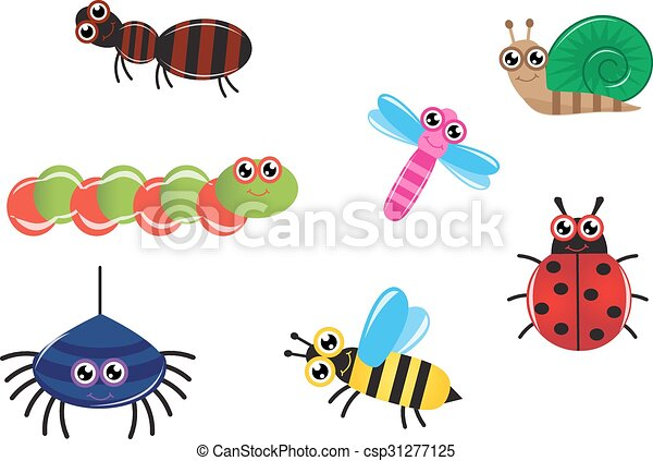 cartoon insects - csp31277125