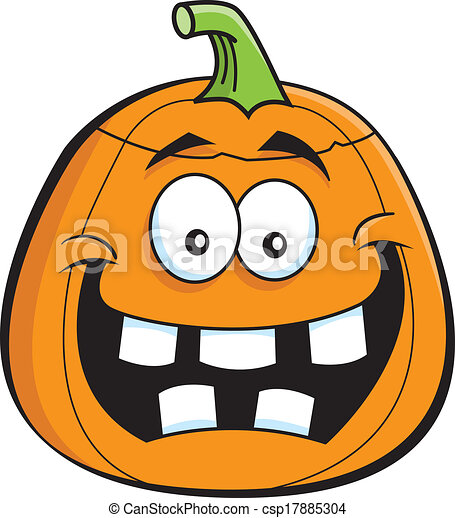 cartoon jack o lantern cartoon illustration of a jack o vector rh canstockphoto com jack-o-lantern clipart picture jack o lantern clipart load