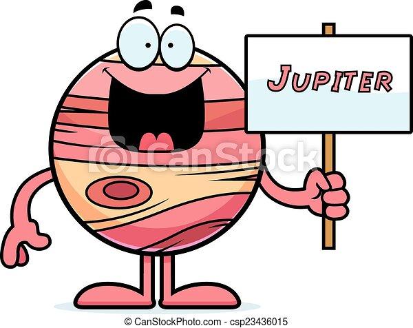 cartoon jupiter sign a cartoon illustration of the planet jupiter rh canstockphoto com jupiter clipart png jupiter animated clipart