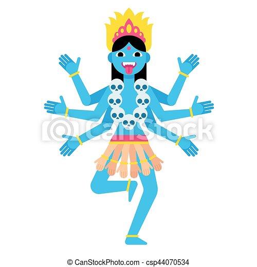 Cartoon Kali Illustration