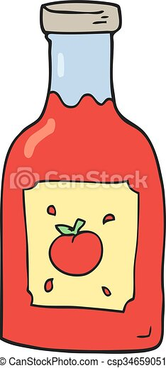 freehand drawn cartoon ketchup clipart vector search illustration rh canstockphoto com ketchup clipart free ketchup clipart free
