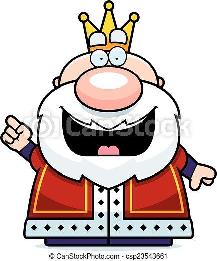 Cartoon King Idea - csp23543661