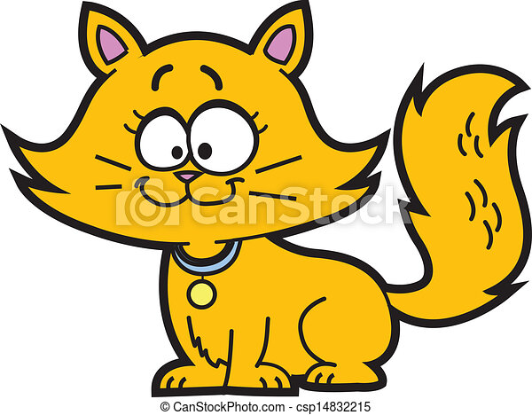 Cartoon Kitten - csp14832215