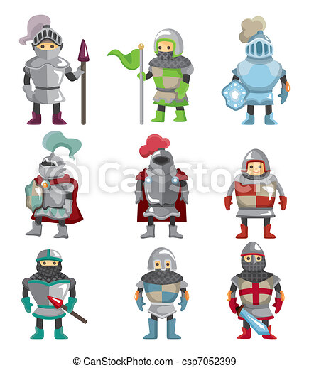 cartoon Knight icon