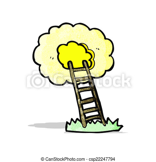 cartoon ladder to heaven eps vectors search clip art illustration rh canstockphoto ie heaven's gate clipart free