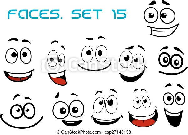 Laughing Cartoon Face