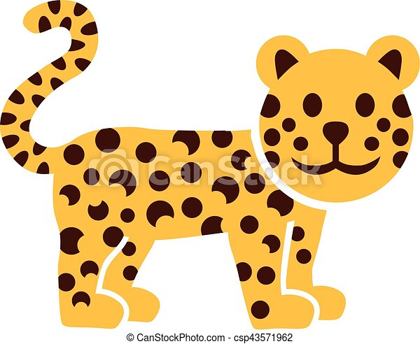 cartoon leopard gepard clip art vector search drawings and rh canstockphoto com leopard clipart black and white leopard clipart png