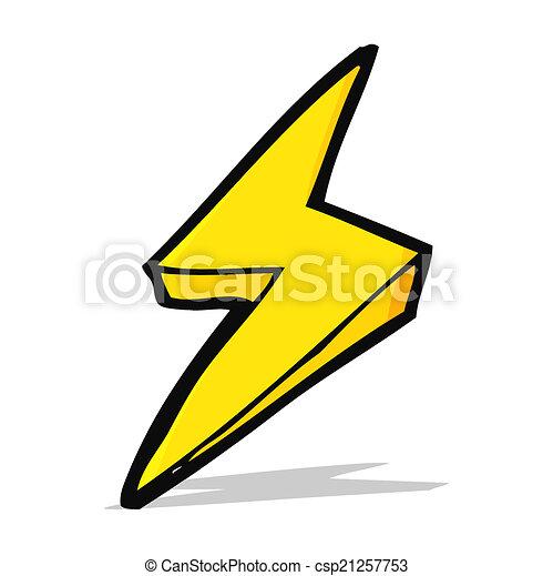 cartoon lightning bolt symbol clipart vector search illustration rh canstockphoto com lightning bolt graphics car lightning bolt graphics for trucks