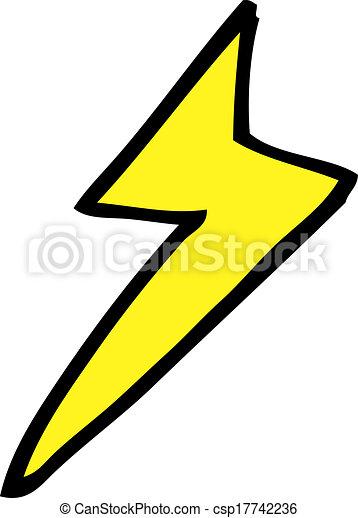 cartoon lightning bolt symbol vectors search clip art rh canstockphoto com lightning bolt graphics on ford truck lightning bolt graphics siloam