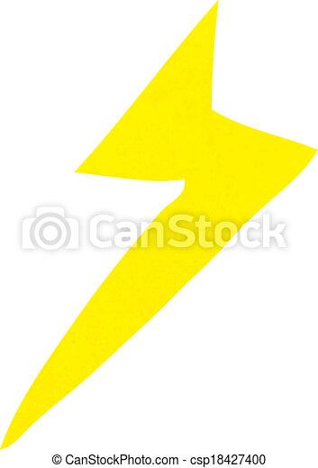 cartoon lightning bolt symbol vector clipart search illustration rh canstockphoto com lightning bolt cartoon black and white lightning bolt cartoon gif