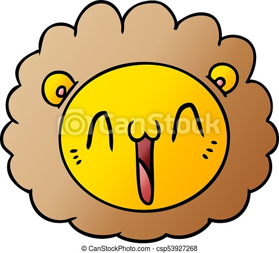 cartoon lion face clip art vector search drawings and graphics rh canstockphoto ca baby lion face clipart lion face drawing clipart