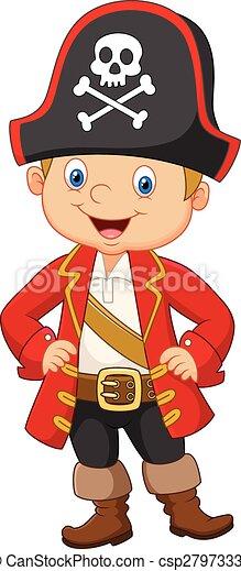 vector illustration of cartoon little boy pirate captain clip art little boy images clip art little boy baptism