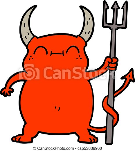cartoon little devil clip art vector search drawings and graphics rh canstockphoto com clip art delivery truck clip art devil horns