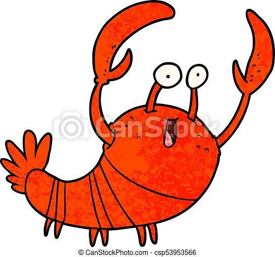 cartoon lobster clip art vector search drawings and graphics rh canstockphoto com lobster clipart png lobster clipart images free
