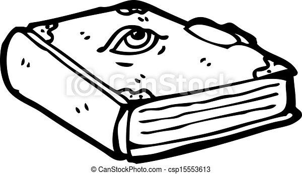 cartoon magic spell book vector clip art search illustration rh canstockphoto com Magic Art Magic Show Clip Art