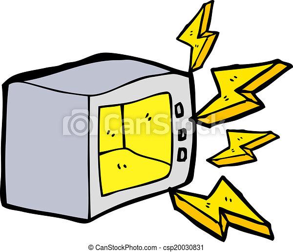 cartoon microwave vectors search clip art illustration drawings rh canstockphoto com sg microwave clipart black and white clean microwave clipart