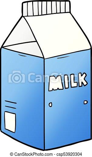 cartoon milk carton rh canstockphoto com cartoon picture of milk carton cartoon image of milk carton