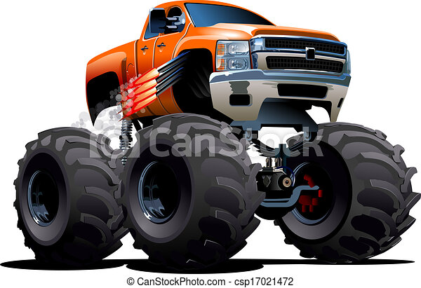 vector cartoon monster truck available eps 10 vector format rh canstockphoto ie monster truck clip art free for birthdays monster truck clipart black and white